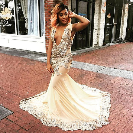 Royalty 😍__Gowns Made by Crissy Couture _Brand_ CRISSY Couture_Occasion_ Prom__Contact_ Questions_C