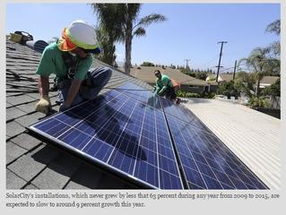 Regulatory headwinds slow SolarCity's growth