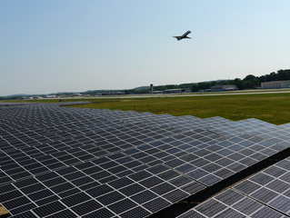 Here's The First American Airport Powered Entirely By Solar Energy