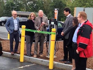 DeWitt Becomes the Latest to Install Electric Vehicle Chargers as Part of State Effort