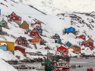 Greenland was hotter than New York City last week