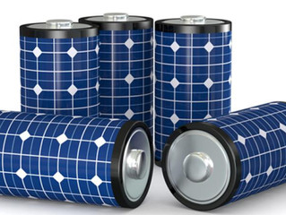 Duo unites solar power and batteries