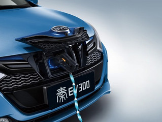 China plug-in electric vehicle sales in 2017: almost four times those in the U.S.