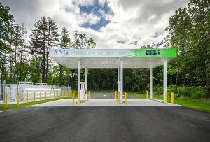 Compressed natural gas station now open in Saratoga Springs