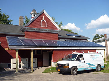 Preble Town Hall solar and heat pumps.jp