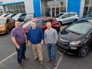 Plug-in electric car sales in Dec: Bolt EV launches; Leaf, Volt rise