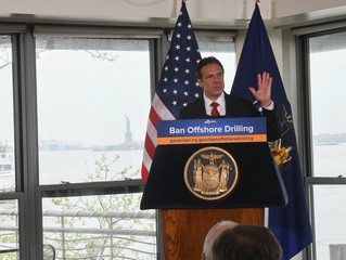 Governor Cuomo Advances 'Save Our Waters' Bill to Prohibit Offshore Drilling Infrastructure