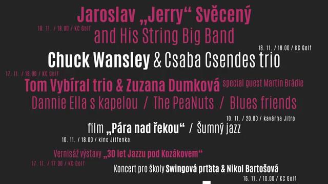 Pozvánka na Jazz pod Kozákovem 2017