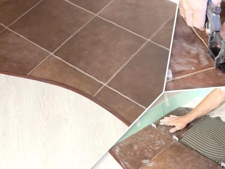 Укладка плитки на деревянные полы