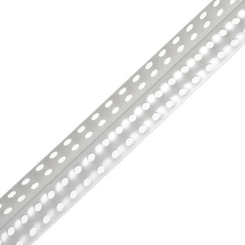 Профиль угловой ПВХ 25х25 мм белый, 3000 мм