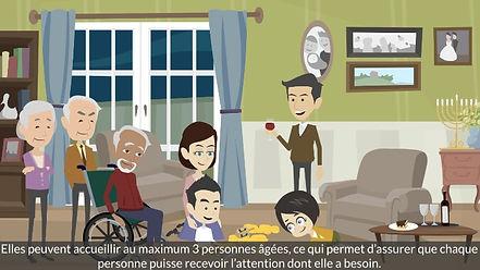 Vidéo famille d'accueil pour personnes âgées