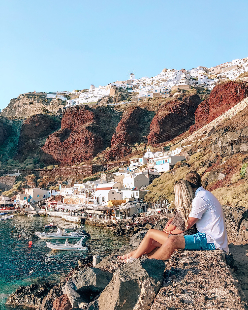 Guide to the Greek Islands Caitlin Eliza Amoudi Bay