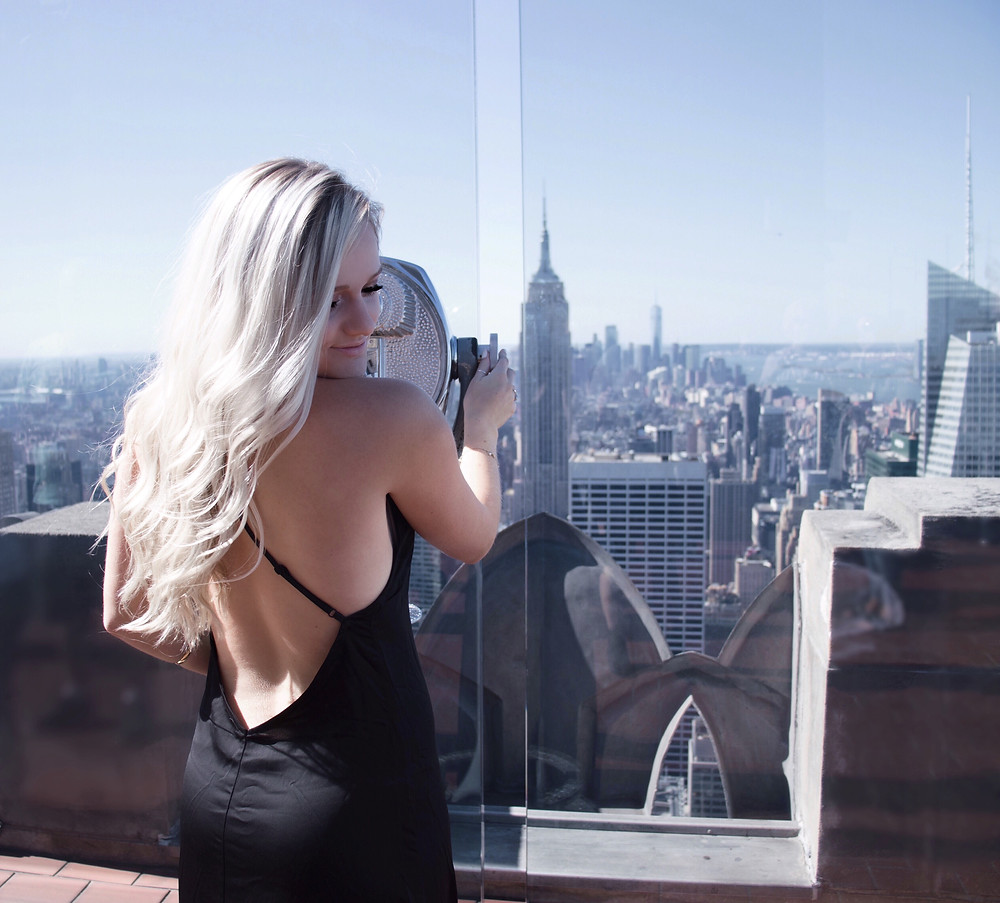 NYFW Top of the Rock Caitlin Eliza