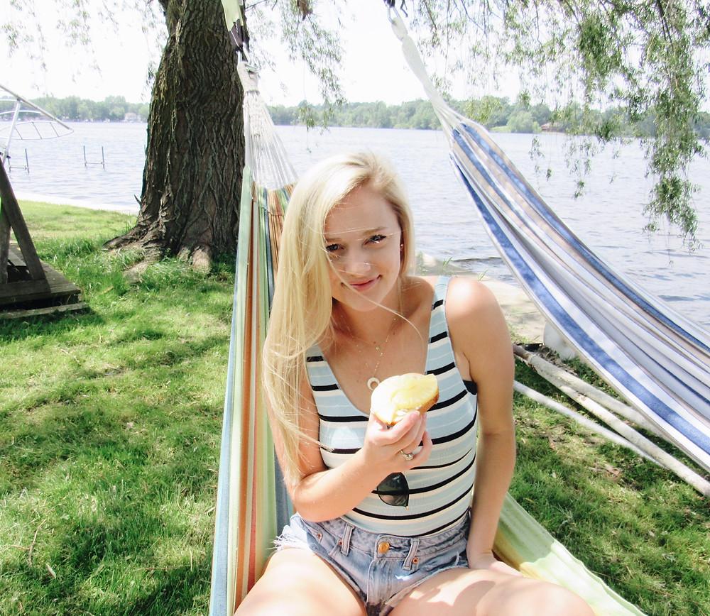 Hammocks by the lake Caitlin Eliza