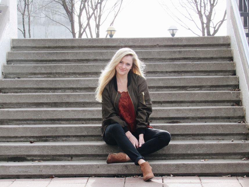 Styling an Olive Bomber
