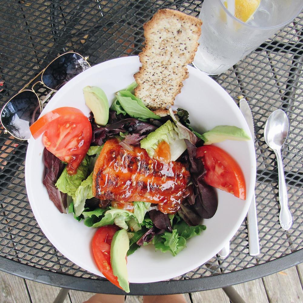 Salmon Avocado Salad