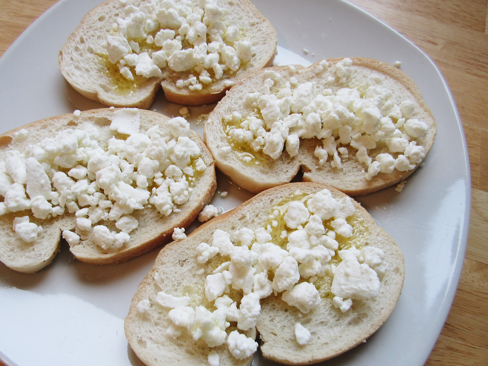 Olive Oil Goat Cheese French Bread Caitlin Eliza