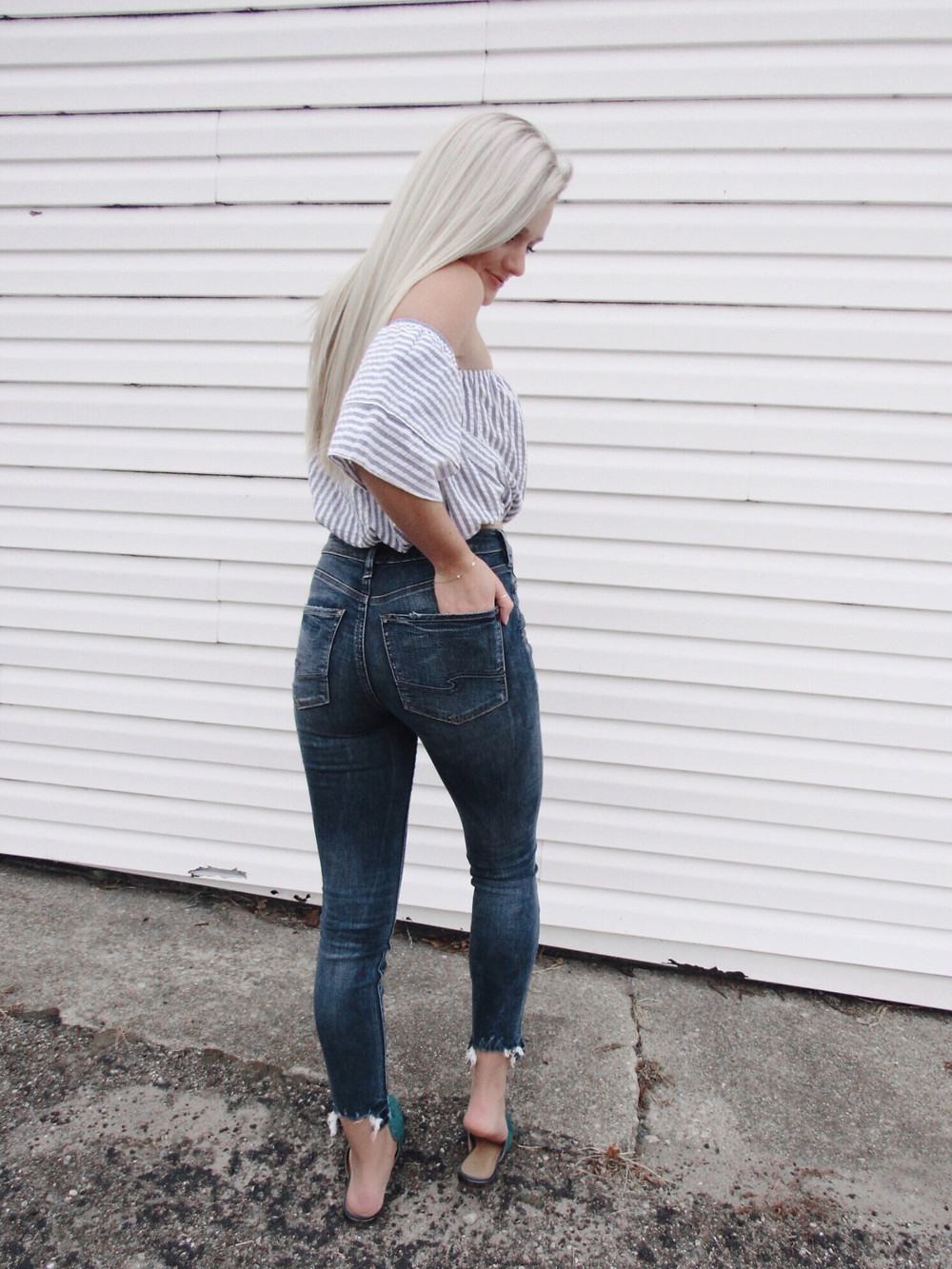Silver Jeans Co. Caitlin Eliza Style