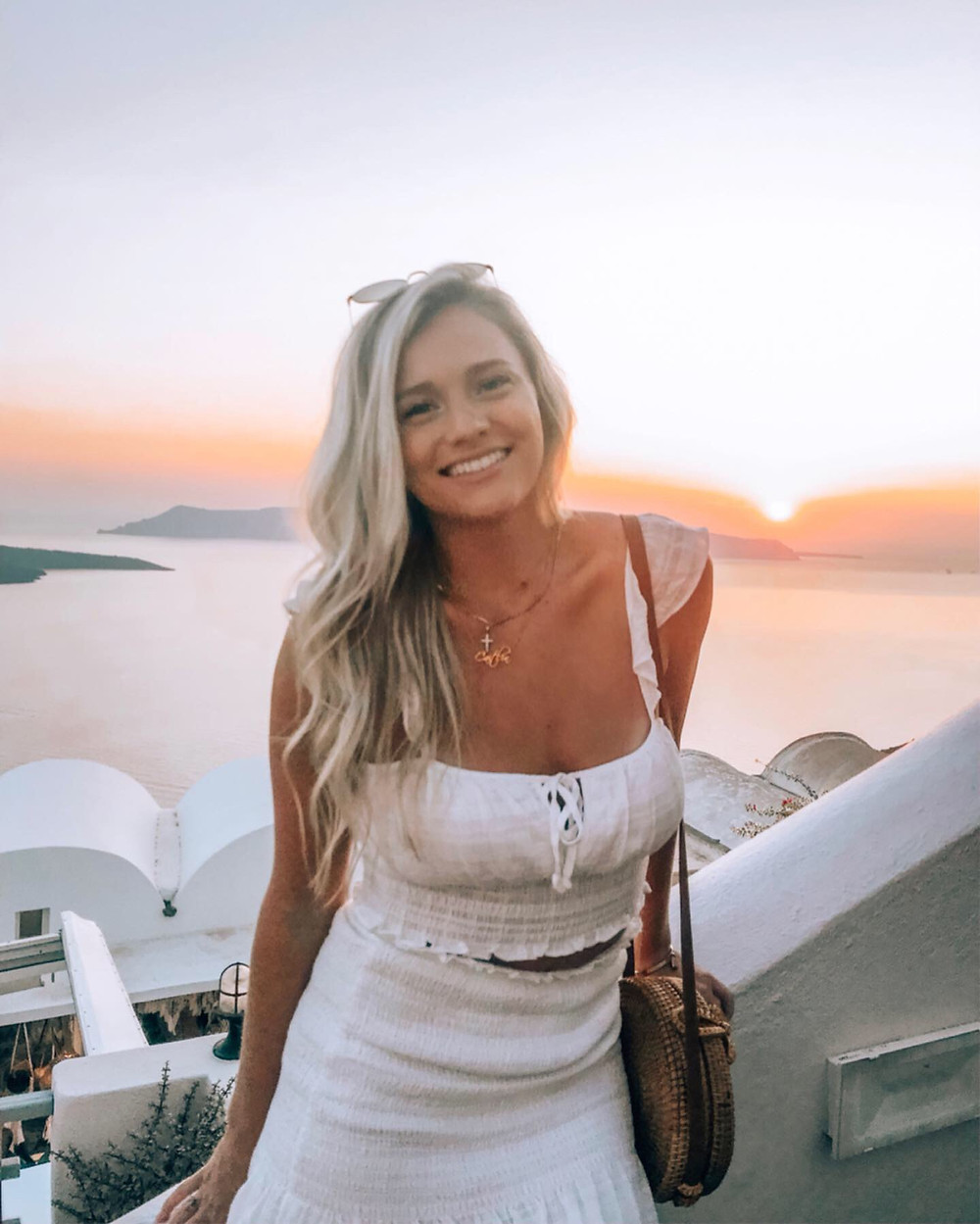 Guide to the Greek Islands Caitlin Eliza Santorini Sunset