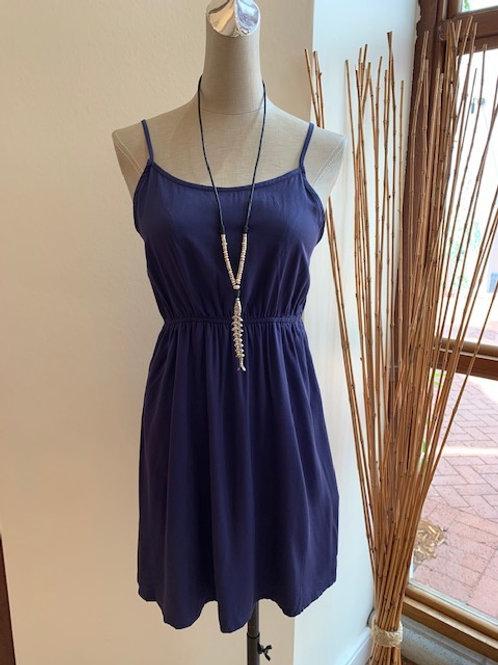 Knit Navy Dress