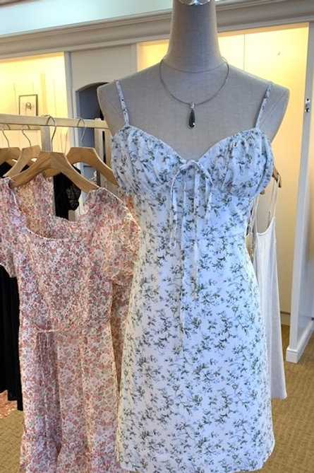 Floral Chiffon Cami Dress