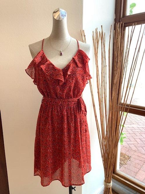 Speckled Print Dress