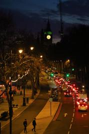 Nightfall Over Westminster