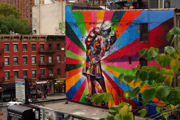 New York City - Street Art from the High Line