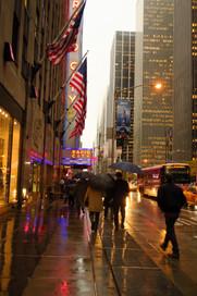 New York City - Umbrellas in Manhattan