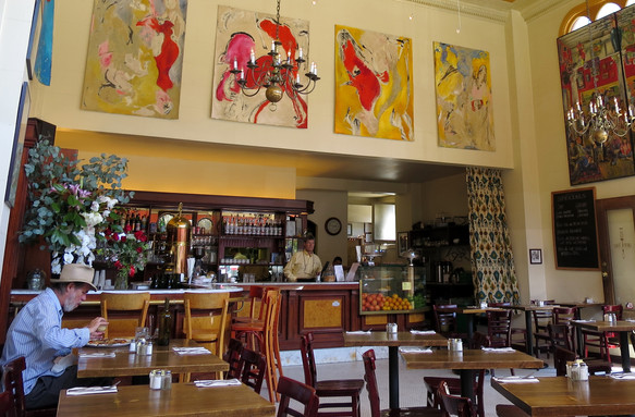 San Francisco - Cafe Devine (now sadly closed)