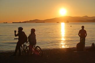 Vancouver - Sunset at English Bay.