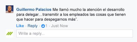 Testimonial-ComentarioGuillermo Palacios