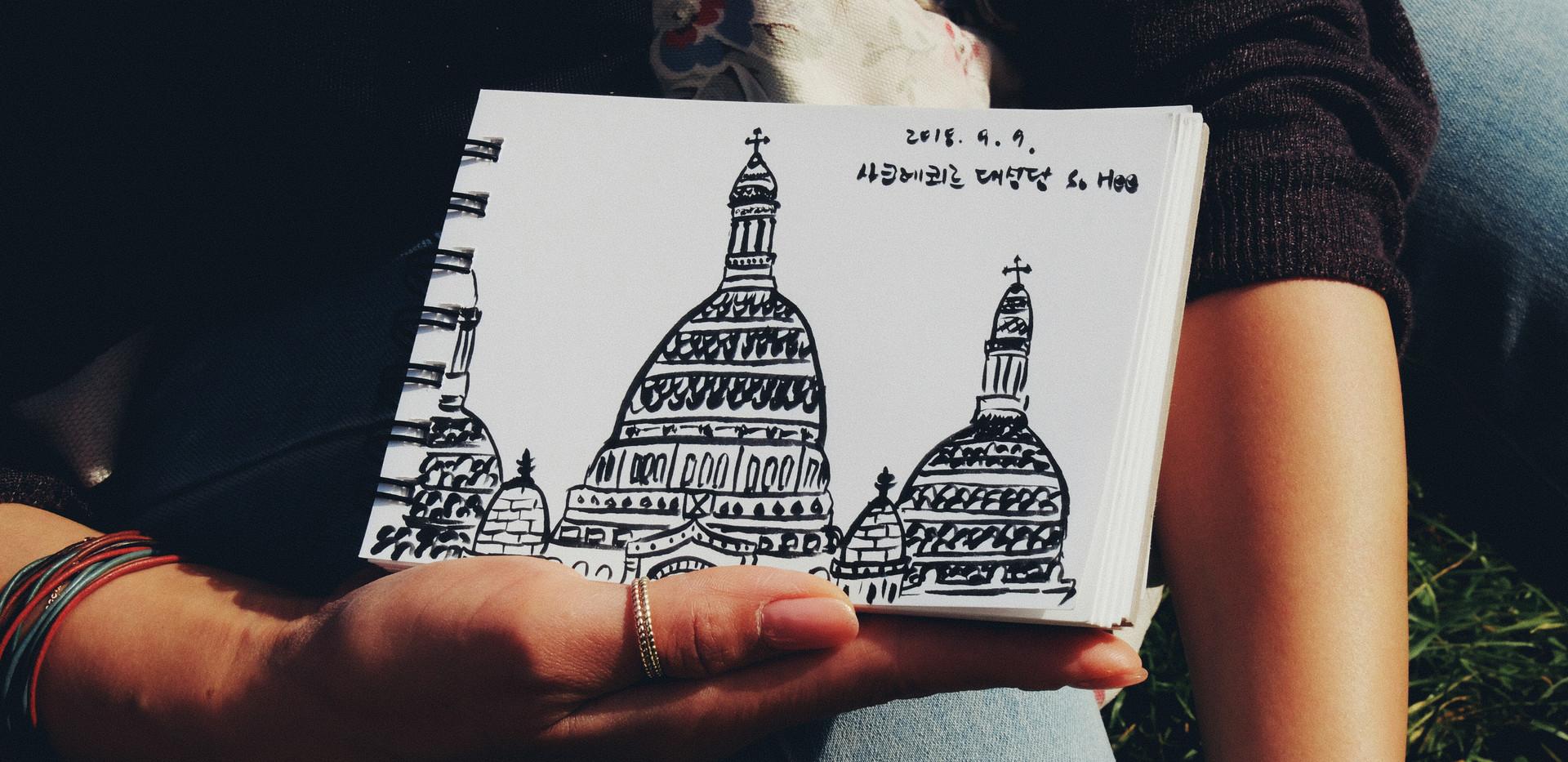 파리에서 자연스럽게 그리기 _ 가로 포스터 _ 01.jpg