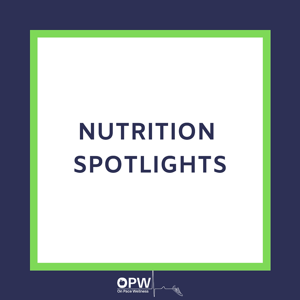 nutrition spotlights frame