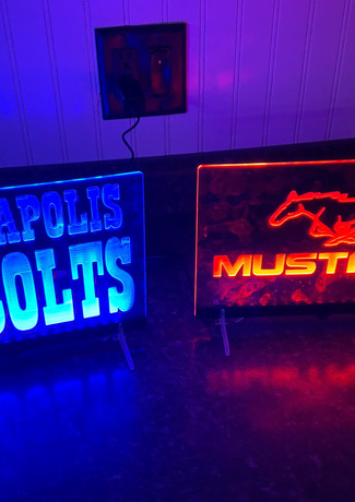 Mustang and Colts