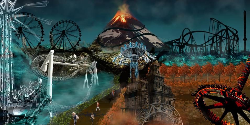 Post- Apocalyptic theme park