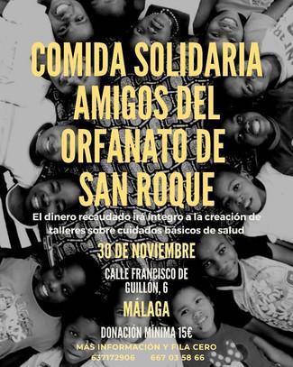Comida Solidaria en Málaga