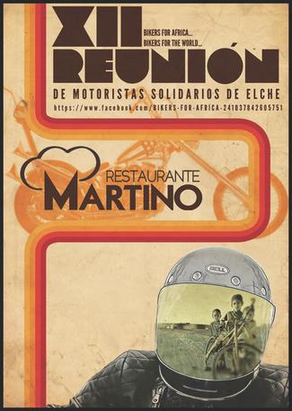 XII edición de la Reunión de Motoristas Solidarios de Elche