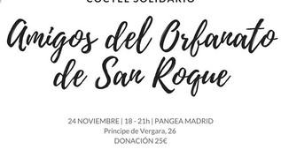 Sois todos bienvenidos a nuestro Cóctel Solidario