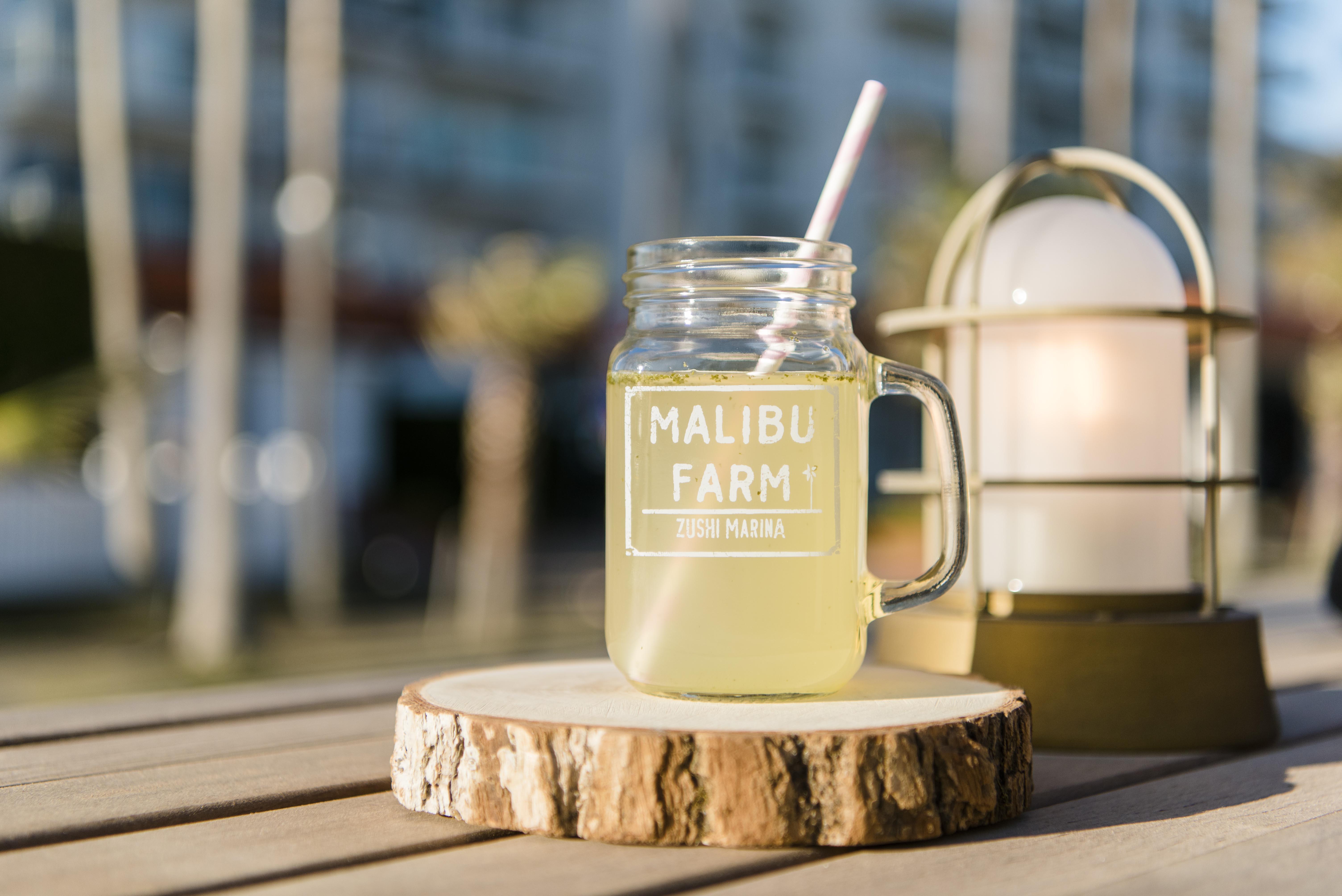 Malibu Farm Mason Jar