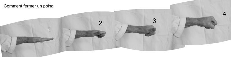 Comment fermer un poing