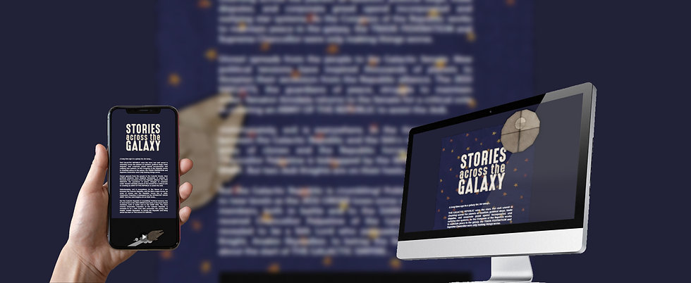 Stories Across the Galaxy: A Star Wars Design Project