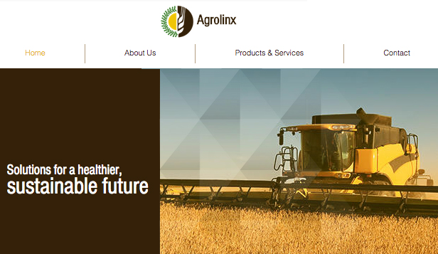 See All Templates website templates – Agriculture Company
