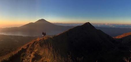 Conquering Mt Batur....a proud moment!