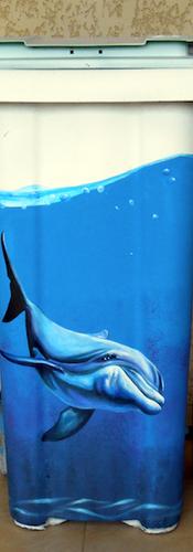 Belle poubelle Dolphin