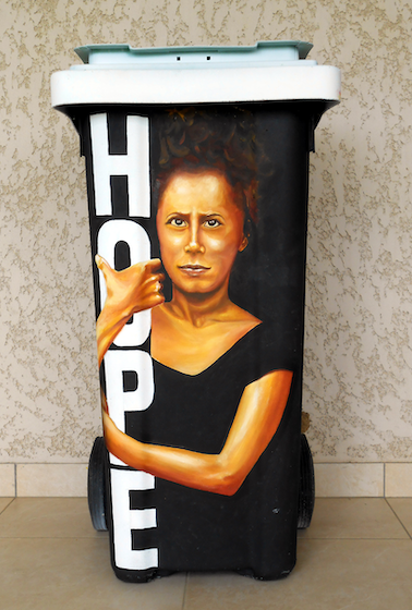 Belle poubelle Hope