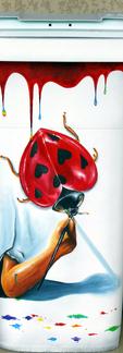 Belle poubelle love ladybug