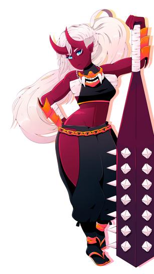 Character Commision: Hiaya