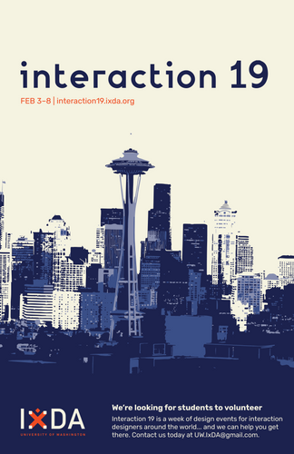 Interaction 19 Poster Design