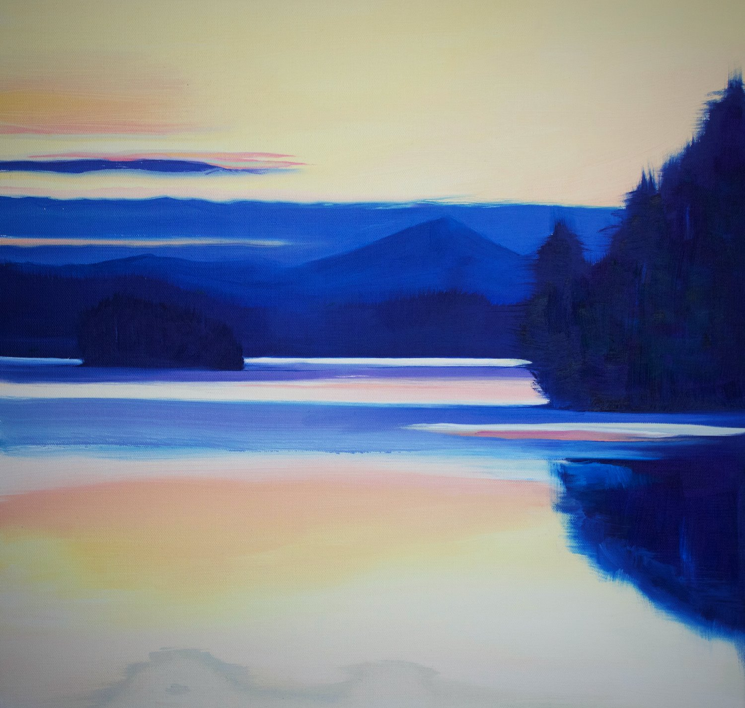ADK oil painting